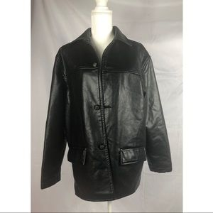 Emporio Italy women's leather jacket. Size M.